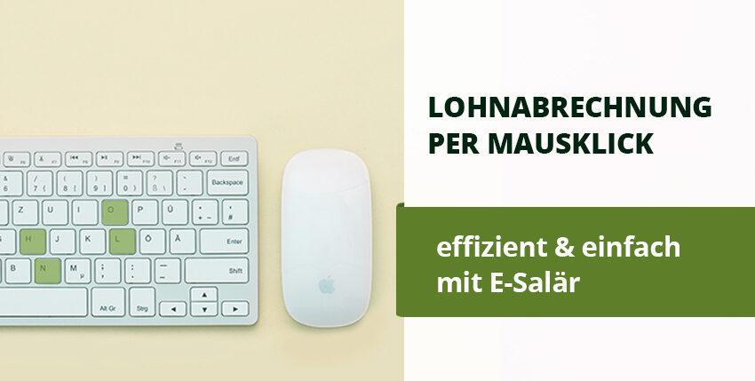 Lohnmodul e-Salär in smallinvoice jetzt verfügbar