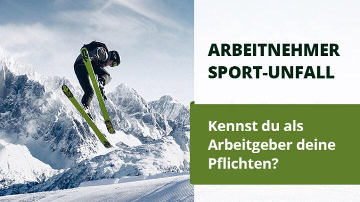Unfall beim Wintersport – was muss ich als Arbeitgeber tun?