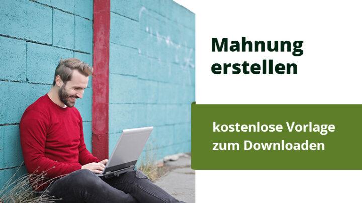 Schweizer Mahnung erstellen – Kostenlose Word Vorlage zum Downloaden