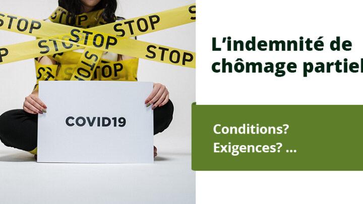 Les indemnités de chômage partiel dues à la pandémie de Corona (COVID-19)