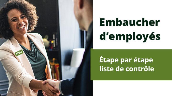 Embaucher de nouveaux clients – Instuction étape par étape
