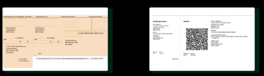 Ende Einzahlungsscheine - Neu QR-Rechnung